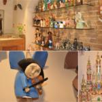 Drewniane ręcznie tworzone anioły oraz szopki bożonarodzeniowe doskonałe na upominek